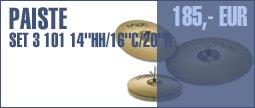 "Paiste Set 3 101 14""HH/ 16""C / 20""R"