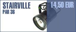 Eurolite PAR36 Pinspot incl. Bulb BK