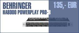 Behringer HA8000 Powerplay Pro-8