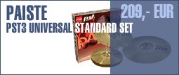 Paiste PST3 Universal Standard Set