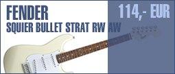 Fender Squier Bullet Strat RW AW
