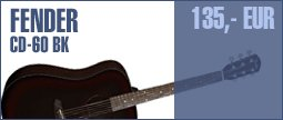 Fender CD-60 BK