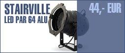 Stairville LED PAR 64 Alu black