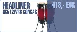 "Meinl HC512 Conga Set 11"" + 12"" -WRB"