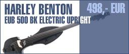 Harley Benton EUB 500 BK Electric Upright