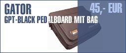 Gator GPT-Black Pedalboard with Bag