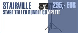 Stairville Stage TRI LED Bundle Complete