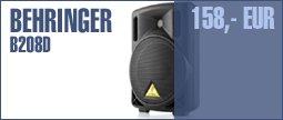 Behringer B208D BK