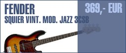 Fender SQ Vintage Mod Jazz 3CSB