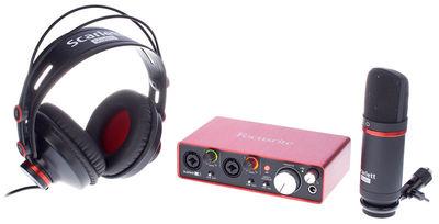 Scarlett 2i2 Studio Pack 2nd Focusrite
