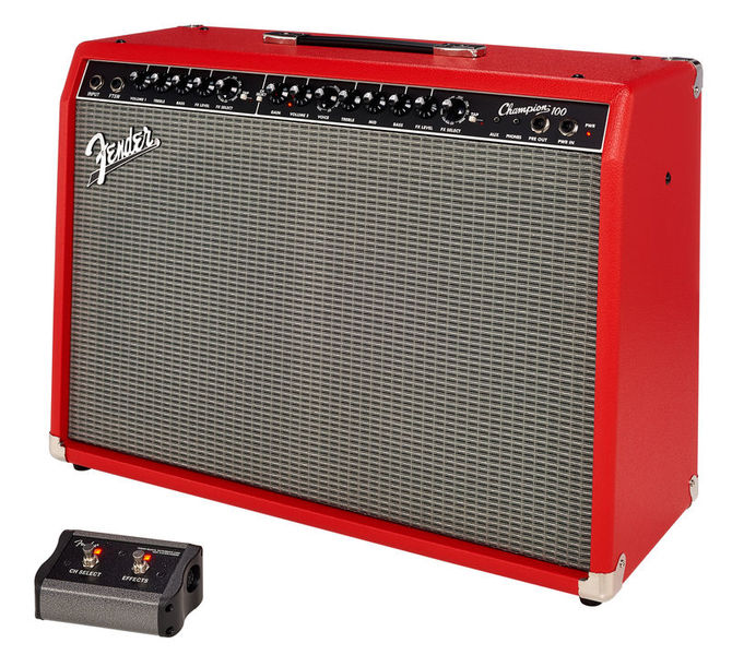 Champion 100 Red Fender