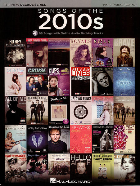 Songs Of The 2010s Hal Leonard