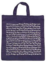 Vienna World Cotton Bag Navy