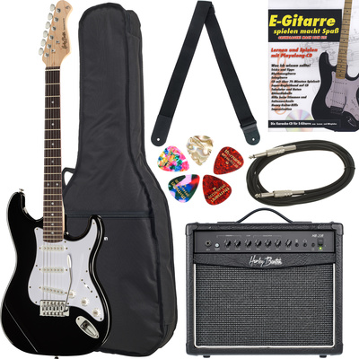 Thomann Gitarrenset G2 schwarz