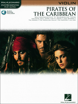 Hal Leonard Pirates Of The Caribbean (Vl)