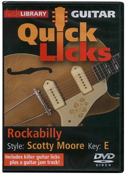 Music Sales Quick Licks Scotty Moore DVD