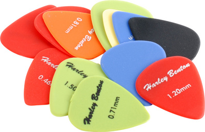 Harley Benton Nylon Player Pick Set Mixed
