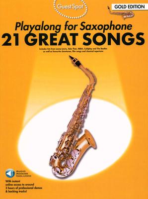 Wise Publications Guest Spot 21 Songs Alto Sax