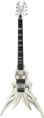 BC Rich Draco Ghost Flame