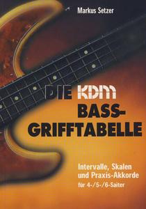 KDM Verlag Die KDM Bass-Grifftabelle