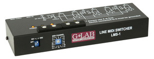 G Lab LMS-1 Line MIDI Switcher