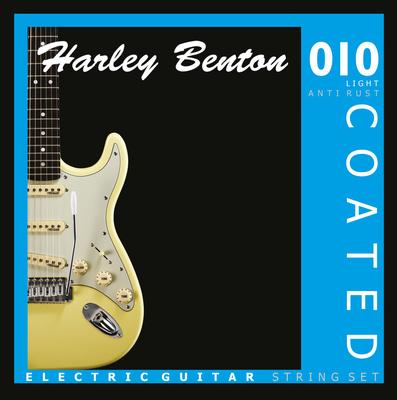 Harley Benton Coated Electric Guitar 010