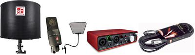 SE Electronics X1 RFX Studio Bundle2