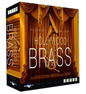 EastWest QL Hollywood Brass Diamond W