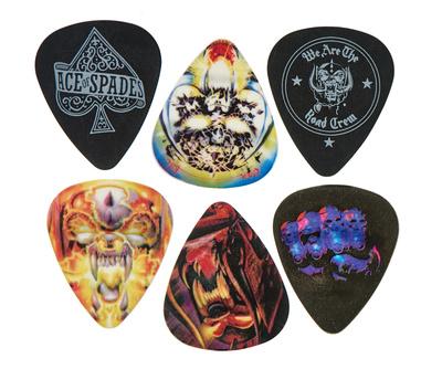 Dunlop Motorhead Album Art Pick Set