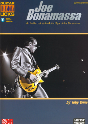 Hal Leonard Joe Bonamassa Legendary Licks